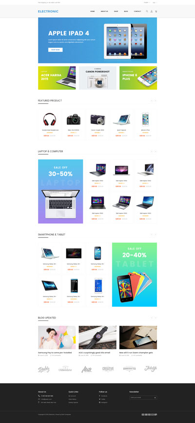 Shopify Digital Theme